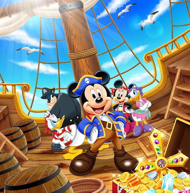 宝探しの冒険にいこう!「Mickey Treasure Hunt」 この夏は海賊ミッキーたちと宝探しを楽しもう!