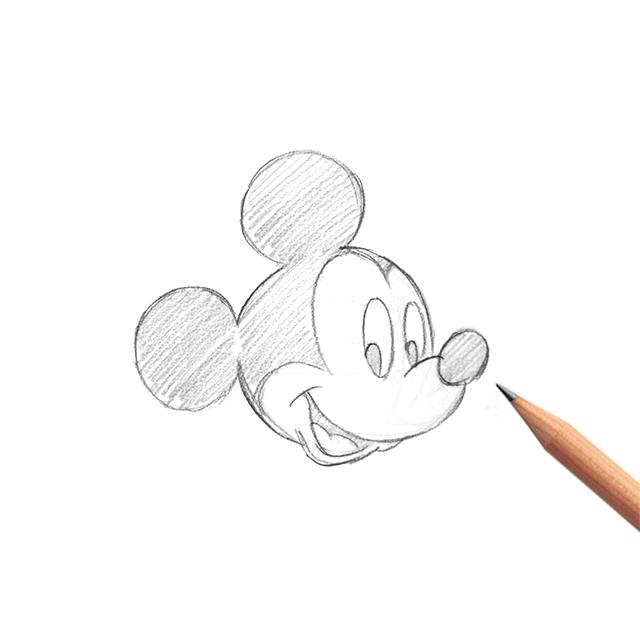 イラストレーション講座 アーティストが教えるミッキーの描き方