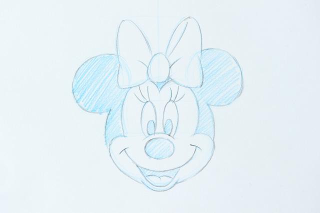 イラストレーション講座第3回 アーティストが教えるミニーの描き方