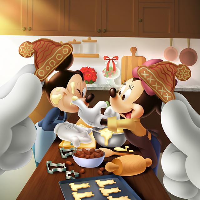 Mickey Friends Snap クリスマスパーティーの準備をするミッキーたちの様子を グーフィーがsnsに毎日投稿 Disney Daily