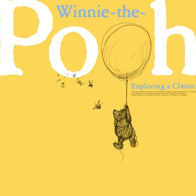 クマのプーさん誕生秘話 貴重な原画がたくさん!「クマのプーさん展」2月9日より開催
