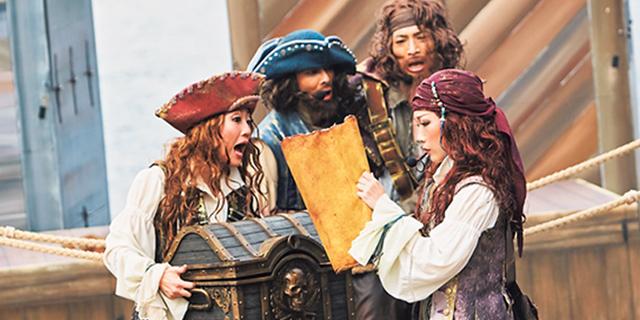東京ディズニーシー®の「ディズニー・パイレーツ・サマー」で海賊の仲間になるぞ! ディズニーファン2019年9月号