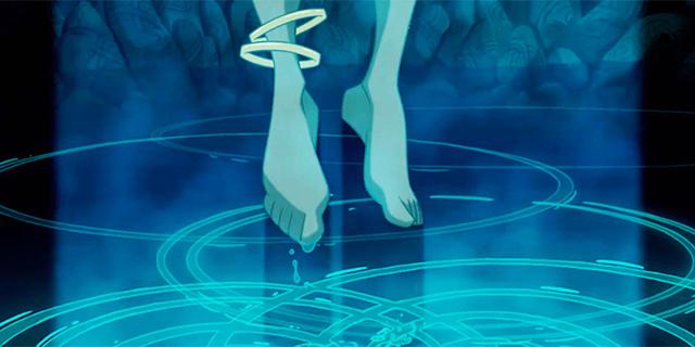 【知ってる?ディズニートリビア】この水が出てきたのはどの作品だった? 色の感じ?光の反射?水の画像から映画のタイトルを当ててみよう!