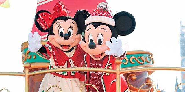 東京ディズニーランド®クリスマスのエンターテイメント ディズニーファン2020年1月号